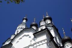 La chiesa di Kazan in Zelenogorsk Fotografie Stock