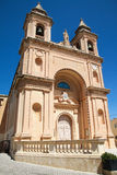 La chiesa di Malta Fotografia Stock