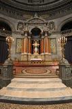 La chiesa di marmo Copenhaghen Fotografie Stock