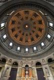 La chiesa di marmo Copenhaghen Fotografie Stock Libere da Diritti