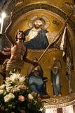 La chiesa di Martorana, Palermo, Italia Immagini Stock Libere da Diritti