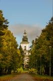 La chiesa di Mustasaari Fotografia Stock Libera da Diritti