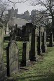 La chiesa di parrocchia del cimitero di St Cuthbert Fotografia Stock