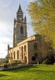 La chiesa di parrocchia della nostri signora e San Nicola Fotografia Stock Libera da Diritti