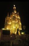 La chiesa di parrocchia San Miguel Fotografia Stock Libera da Diritti