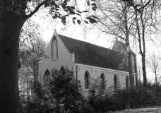 La chiesa di Petrus in Usquert netherlands immagini stock