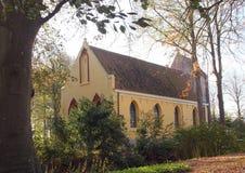 La chiesa di Petrus in Usquert netherlands fotografia stock libera da diritti