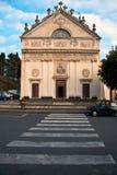 La chiesa di Pieve Alta Fotografie Stock