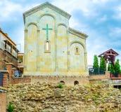 La chiesa di quaranta martiri di Sebaste a Tbilisi fotografia stock