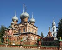 La chiesa di resurrezione su Debra, Kostroma Fotografie Stock