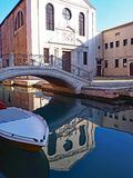 La chiesa di San Giuseppe di Castello a Venezia, Italia immagine stock libera da diritti