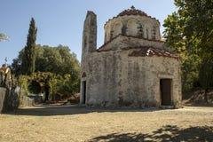 La chiesa di San Nicola, Grecia Fotografie Stock