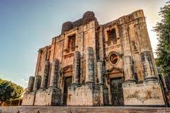 La chiesa di San Nicolo, Chiesa di San Nicolo l arena del `, Catania, Sicilia immagini stock libere da diritti