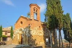 La Chiesa di San Pietro in Villore - San Giovanni d'Asso Royalty Free Stock Images