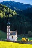 La chiesa di Santa Maddalena in Tirolo Fotografie Stock