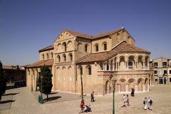 La chiesa di Santa Maria e San Donato Immagine Stock Libera da Diritti