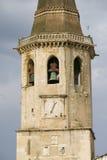 La chiesa di Santa Maria fa Olival è stata considerata come la chiesa di madre dell'ordine dei cavalieri Templar nel Portogallo e Immagini Stock