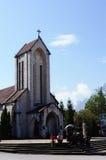 La chiesa di Sapa-Viet Nam Fotografia Stock Libera da Diritti