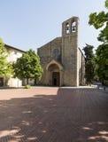 La chiesa di St Dominic Arezzo Toscana Italia Europa Immagine Stock Libera da Diritti