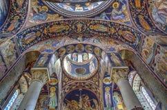 La chiesa di St George a Oplenac, Serbia Fotografia Stock