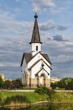 La chiesa di St George su Srednyaya Rogatka Fotografia Stock