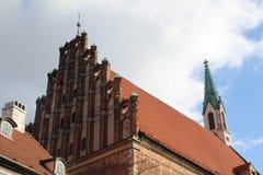 La chiesa di St John, Riga Fotografie Stock Libere da Diritti