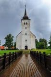 La chiesa di St John in Viljandi, Estonia immagini stock libere da diritti