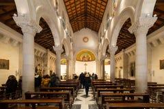 La chiesa di St Joseph, Nazaret Immagine Stock