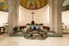 La chiesa di St Joseph, Nazaret Fotografia Stock