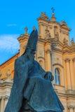 La chiesa di St Joseph a Varsavia, Polonia Fotografie Stock Libere da Diritti