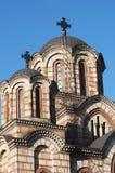 La chiesa di St Mark, Belgrado Fotografia Stock