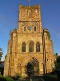 La chiesa di St Mary, Chepstow fotografia stock