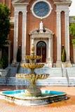 La chiesa di St Mary, Cranston, RI Fotografie Stock Libere da Diritti
