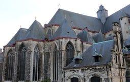 La chiesa di St Michael, Gand, Belgio Fotografia Stock Libera da Diritti