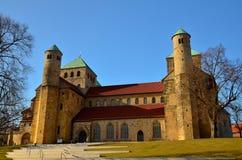 La chiesa di St Michael, Hildesheim Immagini Stock Libere da Diritti