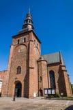 La chiesa di StMaria in Ystad Immagini Stock