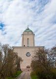 La chiesa di Suomenlinna Immagine Stock