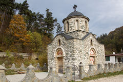 La chiesa di Templar da crusca Immagine Stock Libera da Diritti