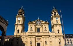 La chiesa di Theatine della st Cajetan a Monaco di Baviera, Germania fotografie stock