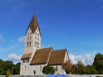 La chiesa di Tingstade Immagine Stock Libera da Diritti