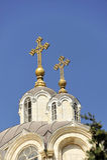 La chiesa di trinità santa. fotografia stock