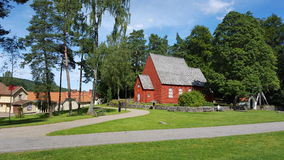 La chiesa di Viking Fotografie Stock Libere da Diritti