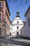 La chiesa domenicana della st Jacek è situata sulla via di Freta, nel distretto centrale di Varsavia Fotografia Stock Libera da Diritti