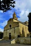 La chiesa (duomo) a Teramo Italia fotografia stock