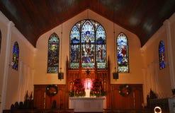 La chiesa episcopale di St Paul, Key West fotografia stock