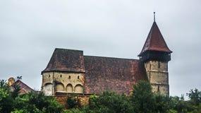 La chiesa fortificata immagine stock