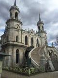 La chiesa gotica dell'icona di Vladimir della madre di Dio fotografia stock libera da diritti