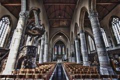 La chiesa gotica maestosa Fotografia Stock Libera da Diritti