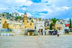 La chiesa greca Fotografie Stock