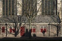 La chiesa ha chiamato Grote Kerk, Dordrecht, Paesi Bassi immagini stock